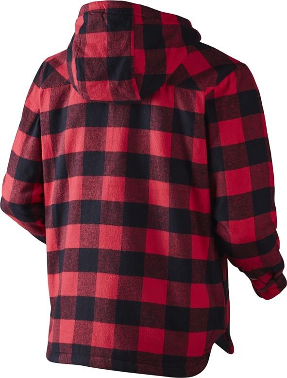 Veste-chemise rouge Canada Seeland