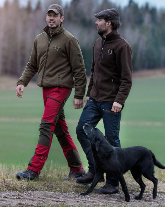 Pantalon d'extérieur rouge Chevalier Alabama Vent Pro