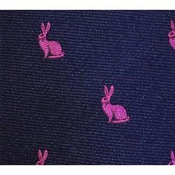 Cravate Atkinsons bleu marine