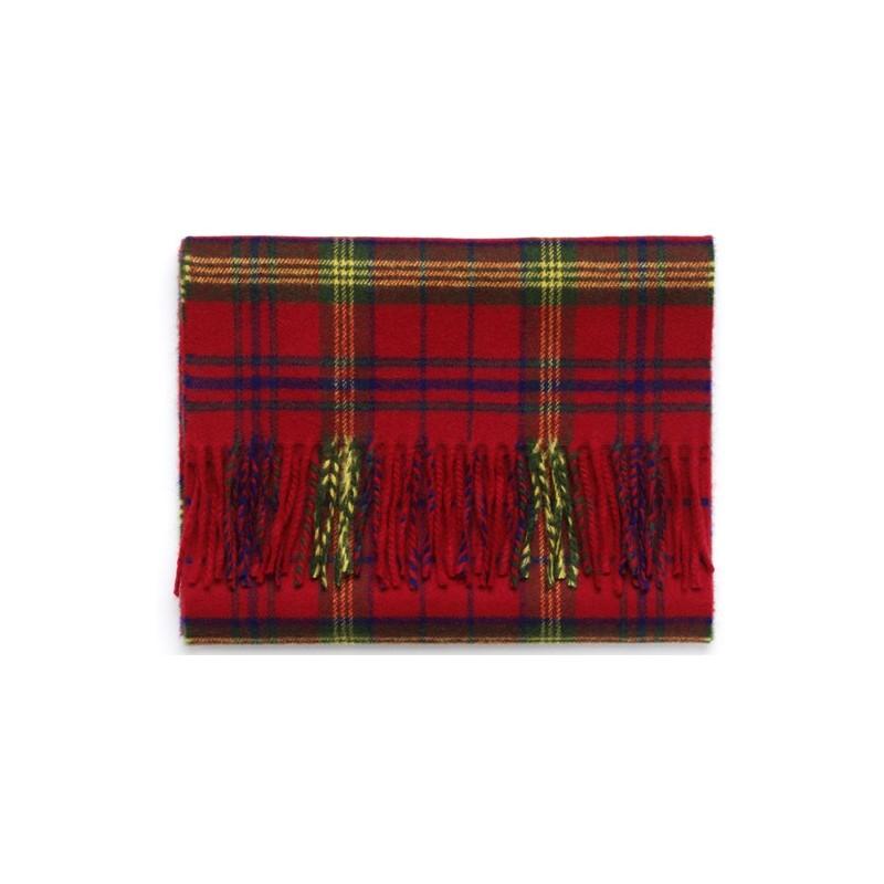 Echarpe Laksen Tarland écossais rouge