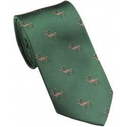 Cravate Laksen Cerf vert