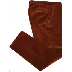 Pantalon en velours marron Sunwill