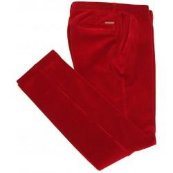Pantalon en velours rouge Sunwill