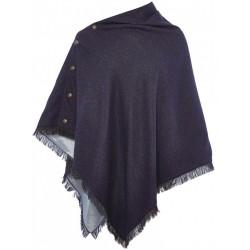 Châle en tweed pour femme DuBarry