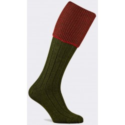 Chaussettes Pennine Chiltern olive