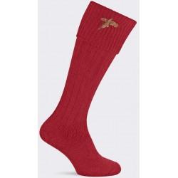 Chaussettes Pennine rouge faisan Stalker