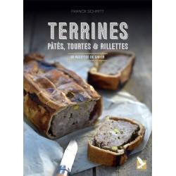 Livre Terrines, pâtés, tourtes et rillettes - Editions du Gerfaut