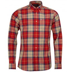 Chemise Barbour Toward rouge