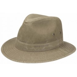Chapeau d'été Stetson Traveller Delave Organic Cotton