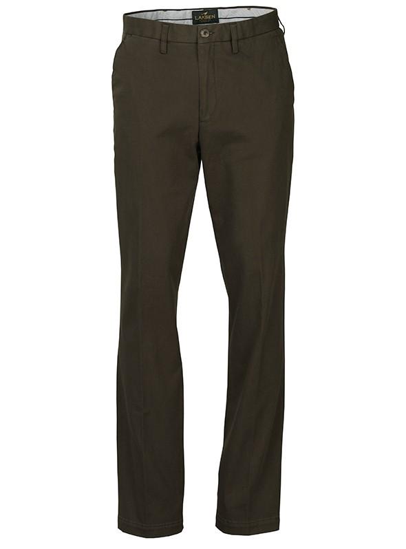 Pantalon chino Laksen vert