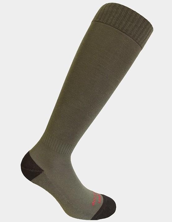 Chaussettes anti-tiques Labonal vert kaki