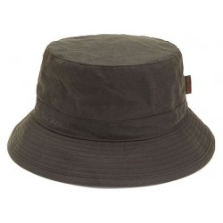 Chapeau huilé Barbour wax Sports