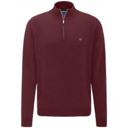 Pull Fynch-Hatton laine-cachemire bordeaux rouge