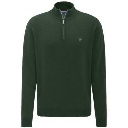 Pull Fynch-Hatton laine-cachemire vert