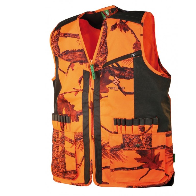 new specials new images of how to buy Gilet de traque camo fluo Somlys