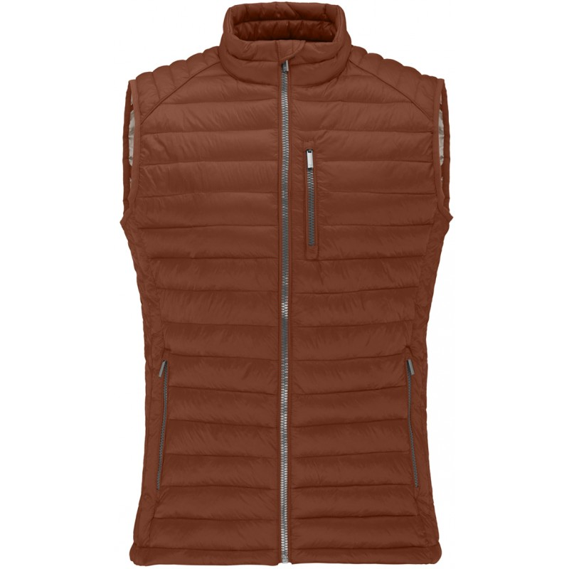 Gilet couleur brique Fynch-Hatton