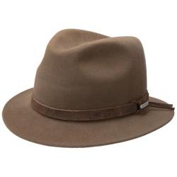 chapeau en feutre de poils de lapin
