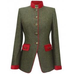 blazer femme tweed