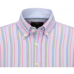 chemise à rayure