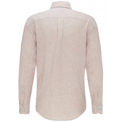 dos de la chemise en lin