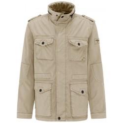 veste saharienne 100% coton beige
