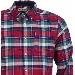 Chemise Barbour Highland check
