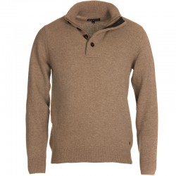 Pull Barbour col boutonné