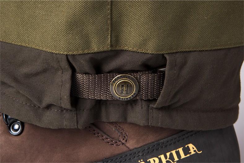 Détail du pantalon chasse très résistant Pro Hunter Härkila Chapuis
