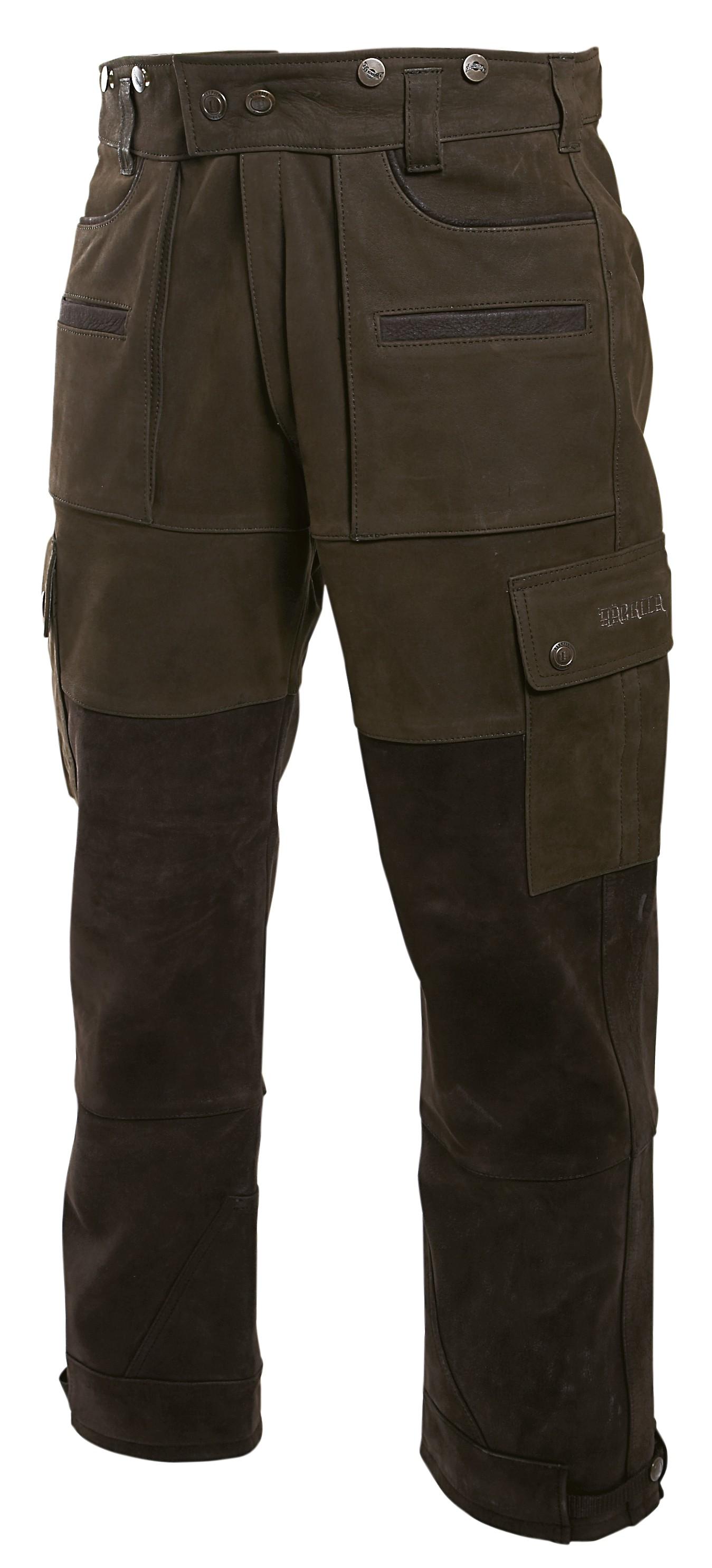 Pantalon de chasse en cuir Angus Härkila Chapuis