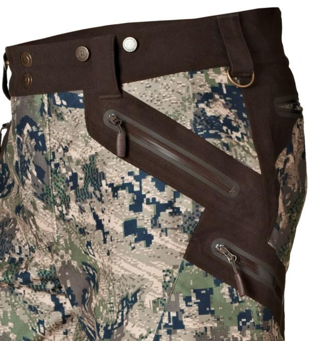 Détail de la ceinture du pantalon de chasse Stealth Härkila