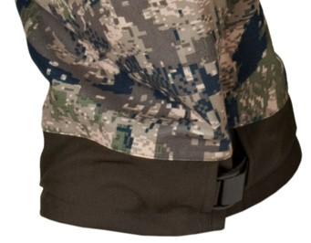 Détail bas de pantalon de chasse Stealth Härkila