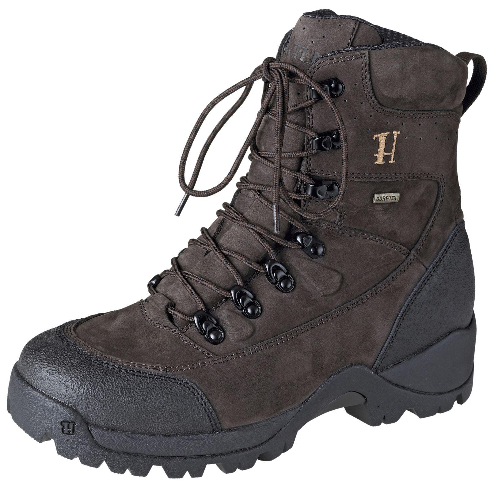 Chaussures de chasse marron foncé Big Game GTX 8 Härkila Chapuis