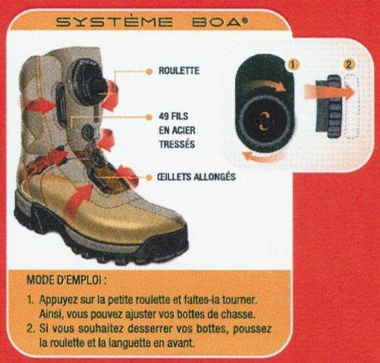 Chaussures Chiruca chasse et Randonnée Boxer BOA