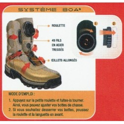 Chaussures Chiruca chasse Bulldog BOA