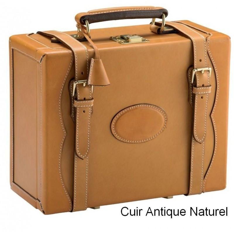 Valise en cuir pour 200 cartouches de Alexandre Mareuil