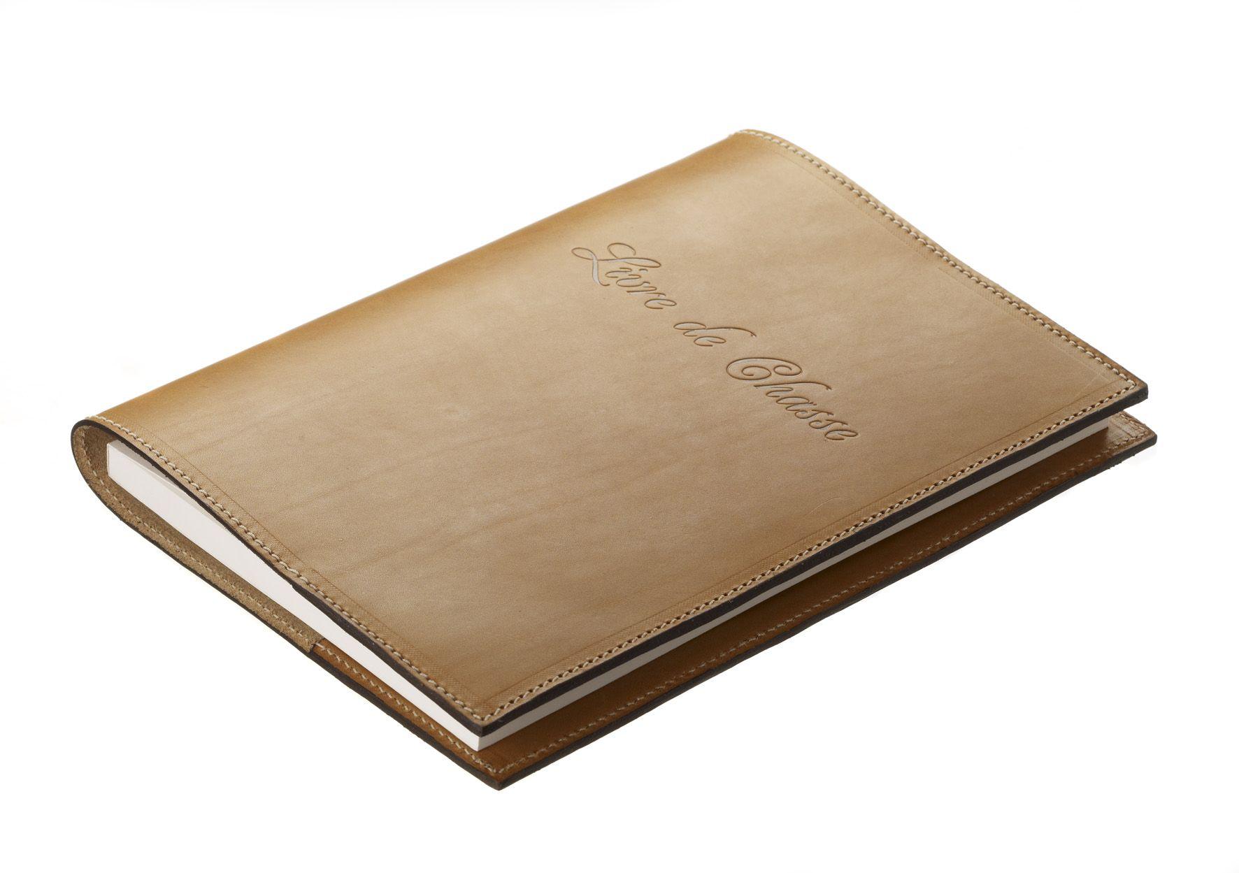 Livre de chasse recouvert par Alexandre Mareuil
