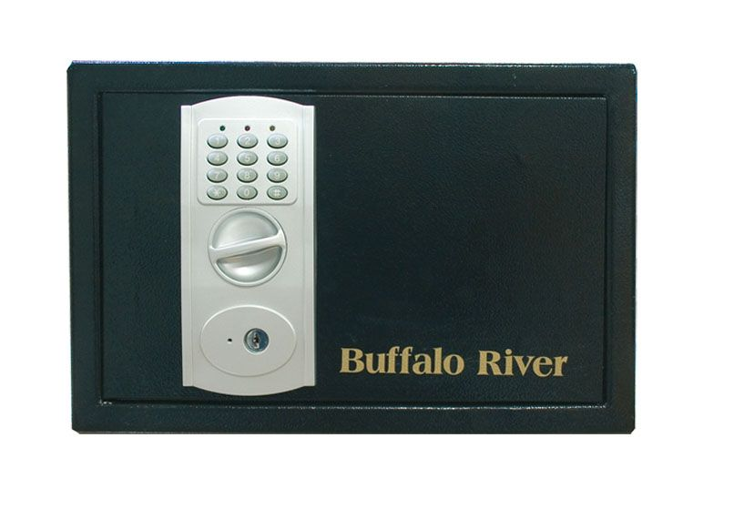 Coffre armes de point Buffalo River