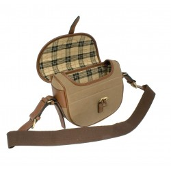 Sac à cartouches en toile coton Country Sellerie - Chasse