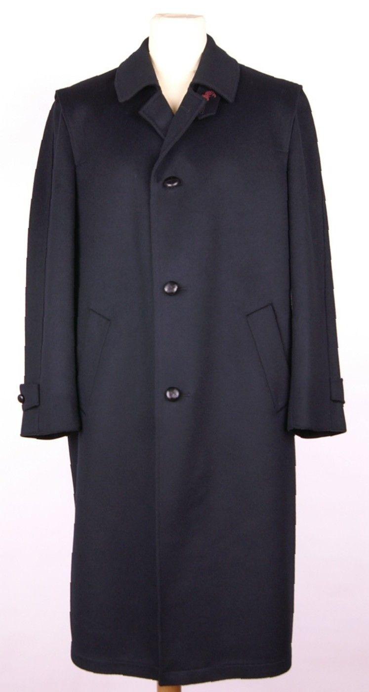 Manteau long en loden bleu Steinbock