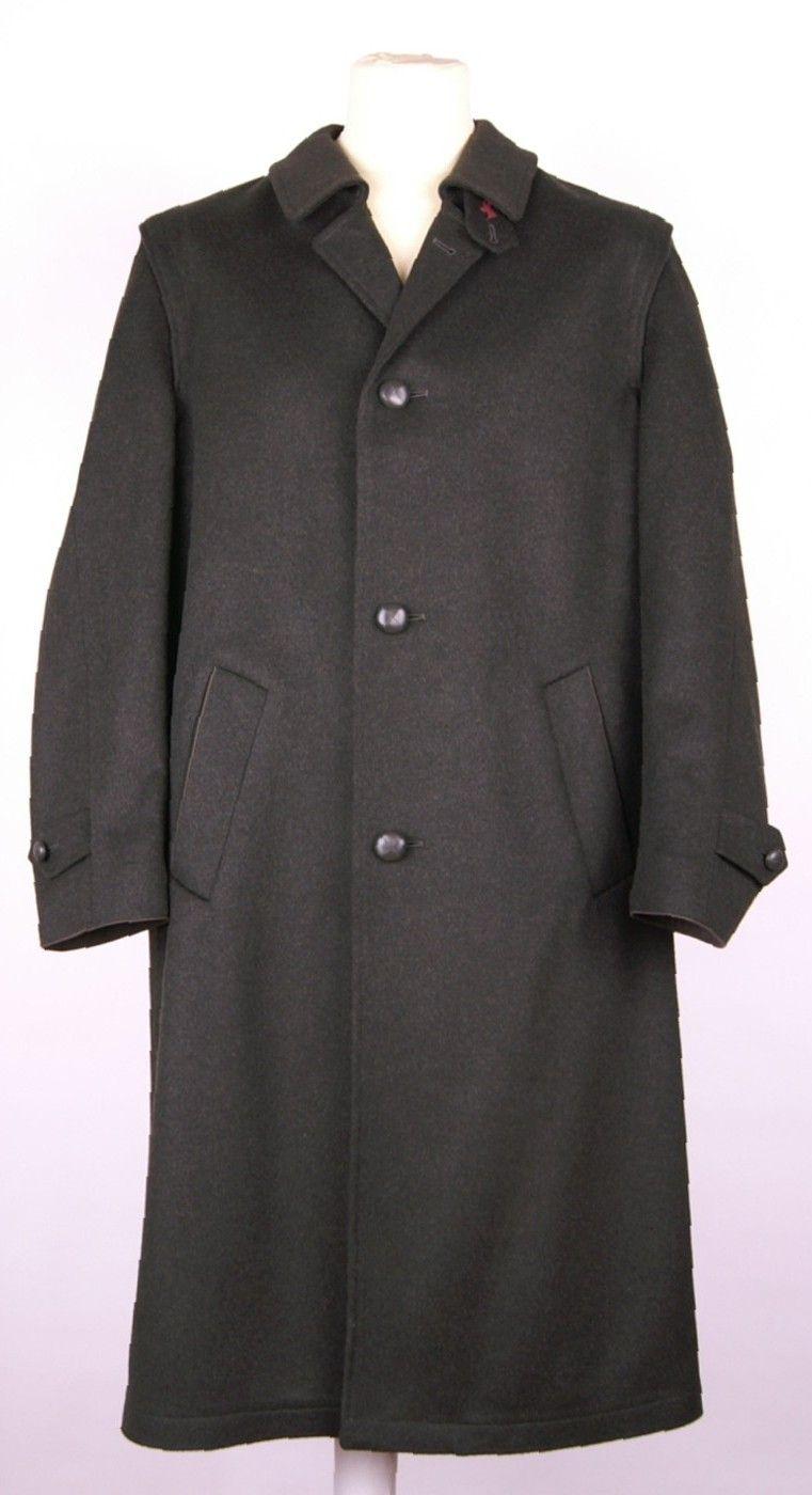 Manteau long en loden vert Steinbock
