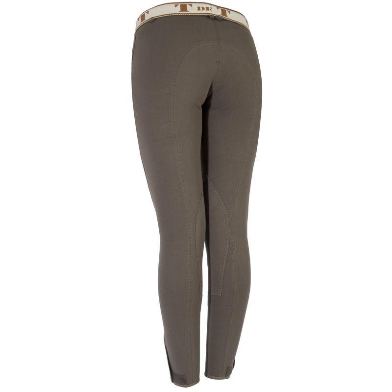 Pantalon équitation femme classique avec taille convertible TdeT