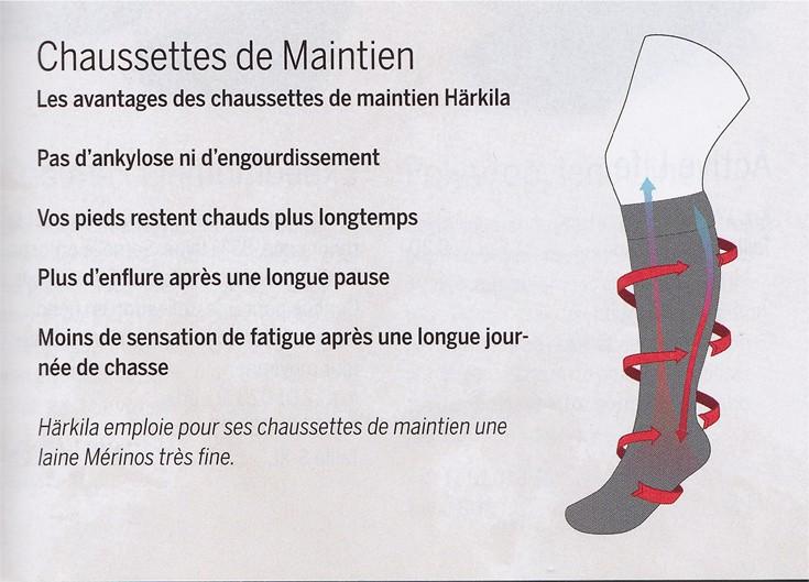 Chaussettes de maintien Sporting Estate Härkila