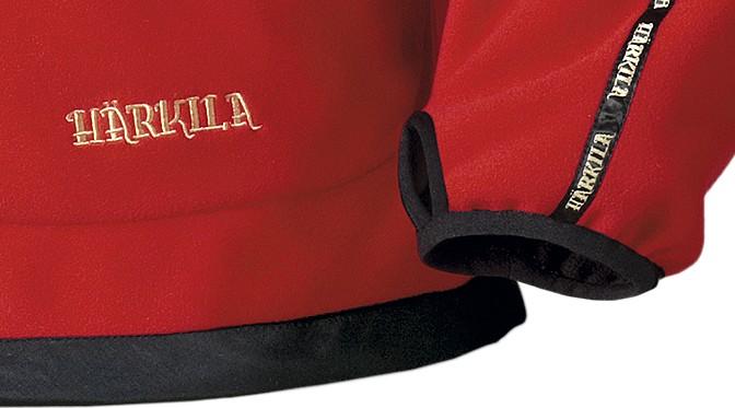 Polaire réversible marron rouge Kamko Härkila