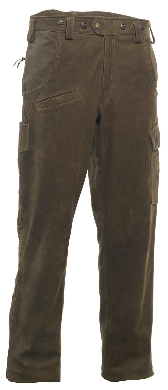 Pantalon en cuir Strasbourg Deerhunter