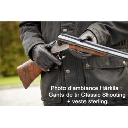 Gants de tir pour femme en cuir de chèvre Classic Shooting Härkila