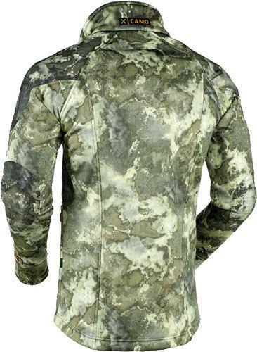 Veste softshell bethel en motif camo montagne de X-Jagd