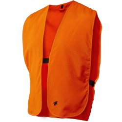 Gilet fluo orange de sécurité Visible Seeland