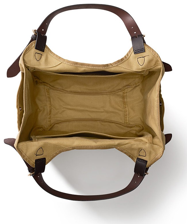 Sac fourre-tout tan Carry All Filson
