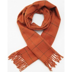 Echarpe en angora orange Woodland Laksen