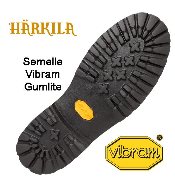 Semelle extérieure Sporting Estate II GTX17 Harkila Vibram Gum Lite